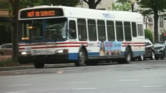 City Buses Stock Footage