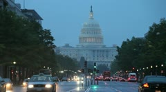 Capitol Bldg 3 Stock Footage