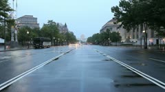 Pennsylvania Ave Stock Footage