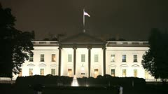 The White House 1 Stock Footage