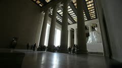 Lincoln Memorial 2 Stock Footage