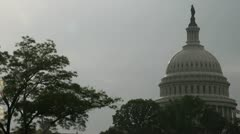 Capitol Dome Stock Footage