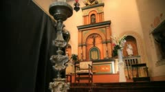 Church Altar Stock Footage