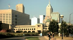 Indianapolis (7) - stock footage