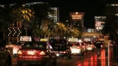 Vegas Traffic 1 Stock Footage