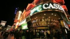 Corner Casino - stock footage