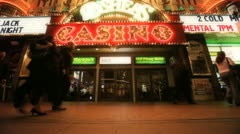 Casino Exterior - stock footage