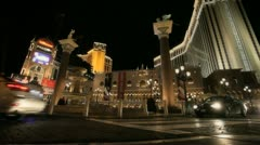 Vegas Streets Stock Footage