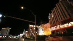 Vegas Strip 4 Stock Footage