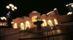 Venetian Fountain 2 - stock footage