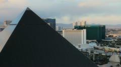 Daytime Vegas Stock Footage
