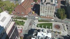 Boston Park Stock Footage
