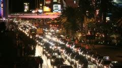 Vegas Traffic 4 Stock Footage