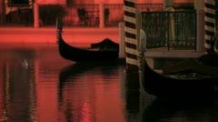 Venetian Gondolas 2 - stock footage