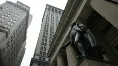 Federal Hall Stock Footage
