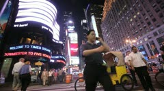 Times Square 29 Stock Footage