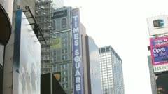 Times Square 31 Stock Footage