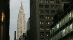 Chrysler Bldg 3 - stock footage