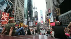 Times Square 33 Stock Footage
