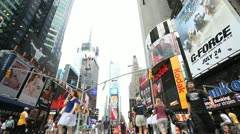 Times Square 38 Stock Footage