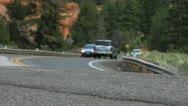 Alpine Road 2 Stock Footage
