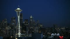 Seattle Skyline 2 Arkistovideo