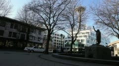 Seattle Park 1 Stock Footage