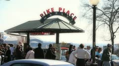 Pikes Place 3 Stock Footage