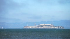 Stock Video Footage of alcatraz 1