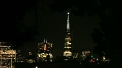 San fran night 1 Stock Footage