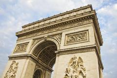 Arc de Triumph, Paris Stock Photos