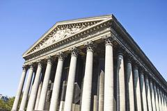 Madeleine Church, Paris, France Stock Photos