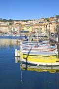Port of Cassis, France Stock Photos
