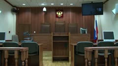 Judgment seat Stock Footage