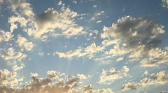 Sunset Clouds 2 - stock footage