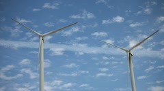 Turbine Time Lapse Stock Footage