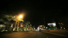 Vegas Timelapse 2 Stock Footage