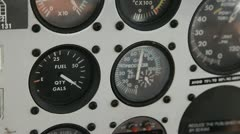 Flight Gauges 2 - stock footage