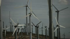 Wind Turbines 7 Stock Footage