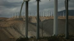 Wind Turbines 12 Stock Footage
