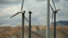 Wind Turbines 15 Stock Footage