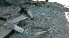 Wreckage 2 Stock Footage