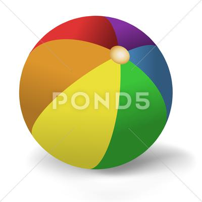 Stock Illustration of beach ball