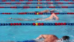 Swimming_003 Stock Footage