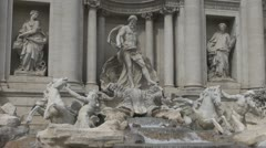 Trevi Fountain Rome Italy, Stock Footage