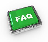 frequently asked question - stock illustration