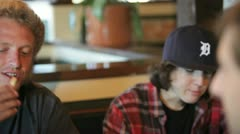 Restaurant guys 1 Stock Footage