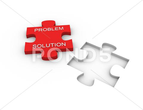 Stock Illustration of Problem solution.jpg