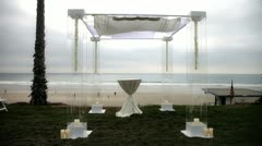 Wedding Arch - stock footage