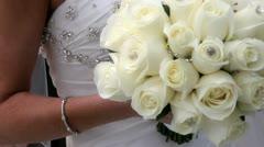 Bridal Flowers 1 Stock Footage